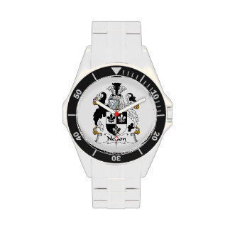 Nelson Family Crest Wrist Watches