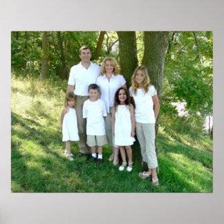 Nelson Family in Parkville Poster