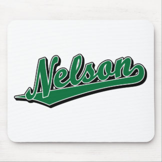 Nelson in Green Mouse Pad