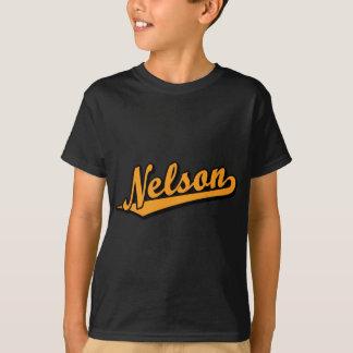 Nelson in Orange T-Shirt