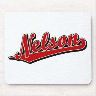 Nelson in Red Mouse Pad