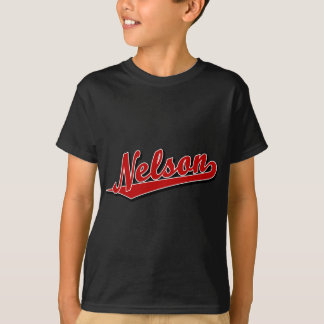 Nelson in Red T-Shirt
