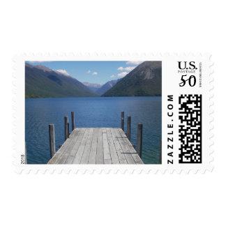Nelson Lakes St Arnaud NZ postage stamp