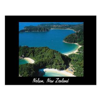 Nelson New Zealand postcard