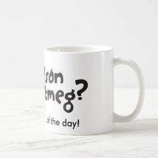 Nelson Nutmug Coffee Mug
