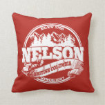 Nelson Old Circle Red Pillow