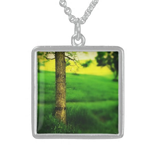 Nelson, sterling silver personalized necklace
