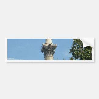 Nelson's Column Bumper Sticker