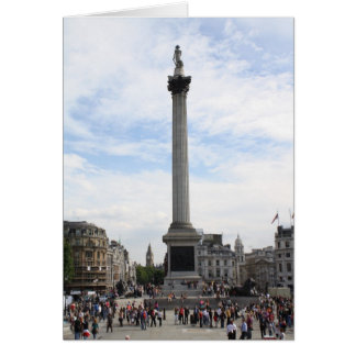 Nelson's Column Greeting Cards