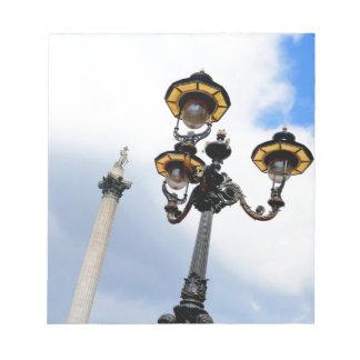 Nelson's Column London Scratch Pads
