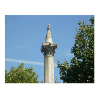 Nelson's Column Postcard
