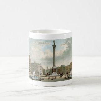 Nelson's Column, Trafalgar Square, London Classic White Coffee Mug