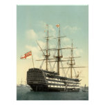 Nelson's HMS Victory archival print