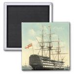 Nelson's HMS Victory Fridge Magnets