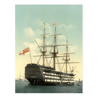 Nelson's HMS Victory Postcard