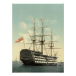 Nelson's HMS Victory Poster