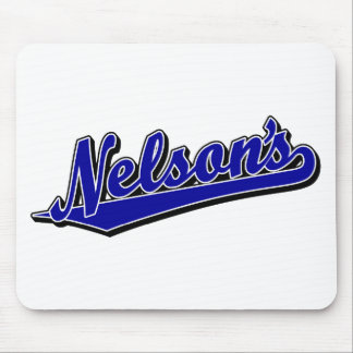 Nelson's in Blue Mouse Pad