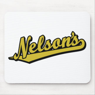 Nelson's in Gold Mouse Pad