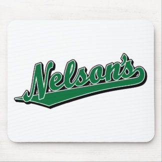 Nelson's in Green Mouse Pad