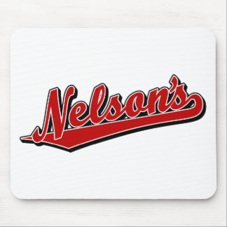 Nelson's in Red Mouse Pad