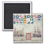 Nelson's signal at Trafalgar Magnets