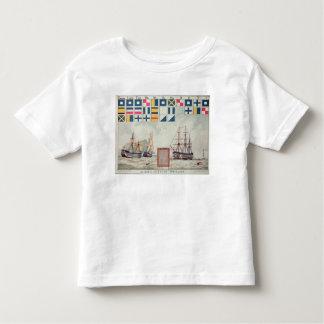 Nelson's signal at Trafalgar Toddler T-shirt