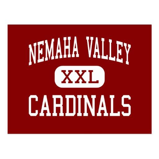Nemaha Valley - Cardinals - High - Cook Nebraska Postcard