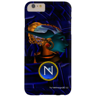 NEMES /HYPER ANDROID,Blue Science Fiction Monogram Barely There iPhone 6 Plus Case