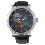 NEMES /HYPER ANDROID,Blue Science Fiction Sci-Fi Wrist Watch
