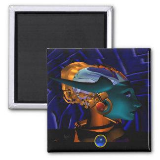 NEMES / HYPER ANDROID PORTRAIT, Science Fiction Magnet