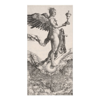 Nemesis, Engraving by Albrecht Durer Card