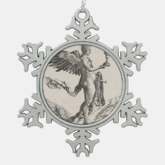 Nemesis Engraving by Albrecht Durer Ornament