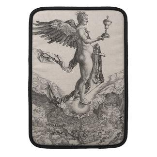 Némesis grabando por Albrecht Durer Fundas MacBook
