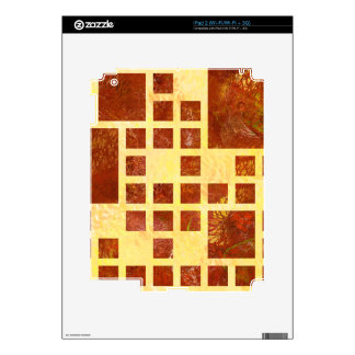 Nemissos V1 - painted squares Decal For iPad 2
