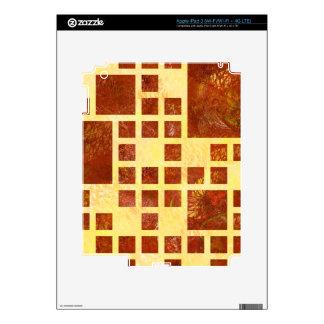 Nemissos V1 - painted squares Decal For iPad 3