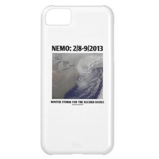 Nemo: 2/8-9/2013 Winter Storm Record Books iPhone 5C Case