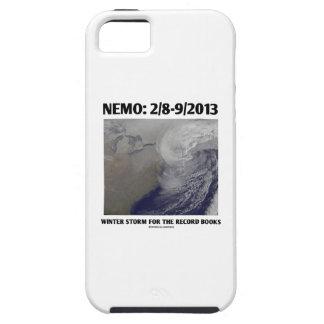 Nemo: 2/8-9/2013 Winter Storm Record Books iPhone 5 Cases