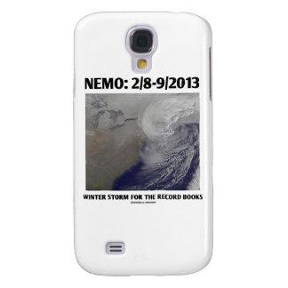 Nemo: 2/8-9/2013 Winter Storm Record Books Samsung Galaxy S4 Cover