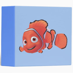 Avery Signature 1' Binder with Cute Nemo of Finding Nemo design