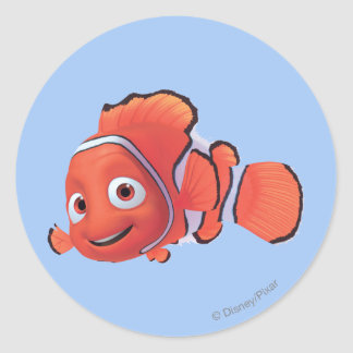 Nemo 3 classic round sticker