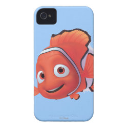Case-Mate iPhone 4 Barely There Universal Case with Cute Nemo of Finding Nemo design