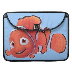 Macbook Pro 15' Flap Sleeve with Cute Nemo of Finding Nemo design
