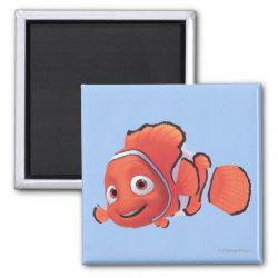 Square Magnet with Cute Nemo of Finding Nemo design