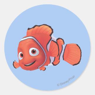 Nemo 3 pegatina redonda