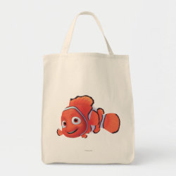Cute Nemo of Finding Nemo Grocery Tote