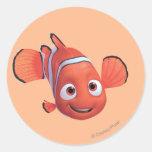 Nemo 4 etiquetas redondas