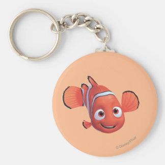 Nemo 4 basic round button keychain