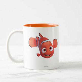 Nemo 4 taza de dos tonos