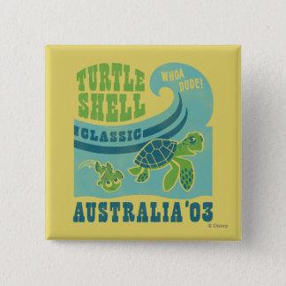 Nemo and Crush - Australia '03 Button