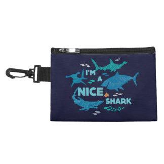 Nemo and Sharks - I'm A Nice Shark Accessory Bag